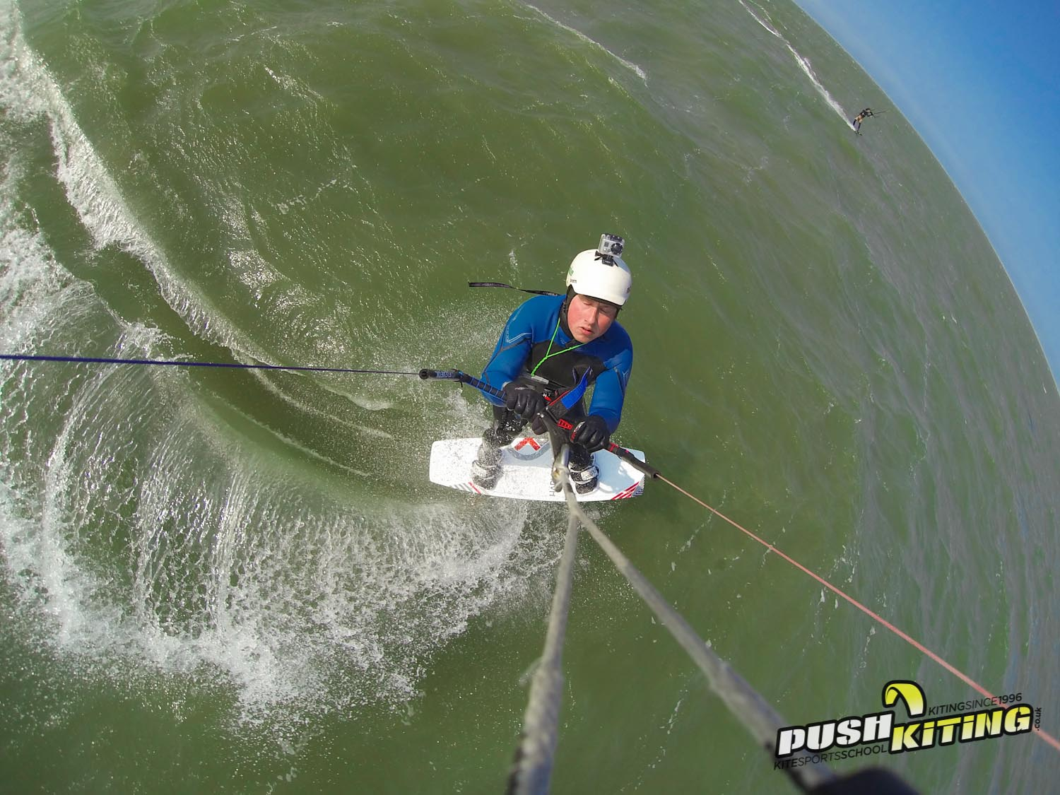 Advanced kitesurf lessons from Coach kitesurfing Essex 2015