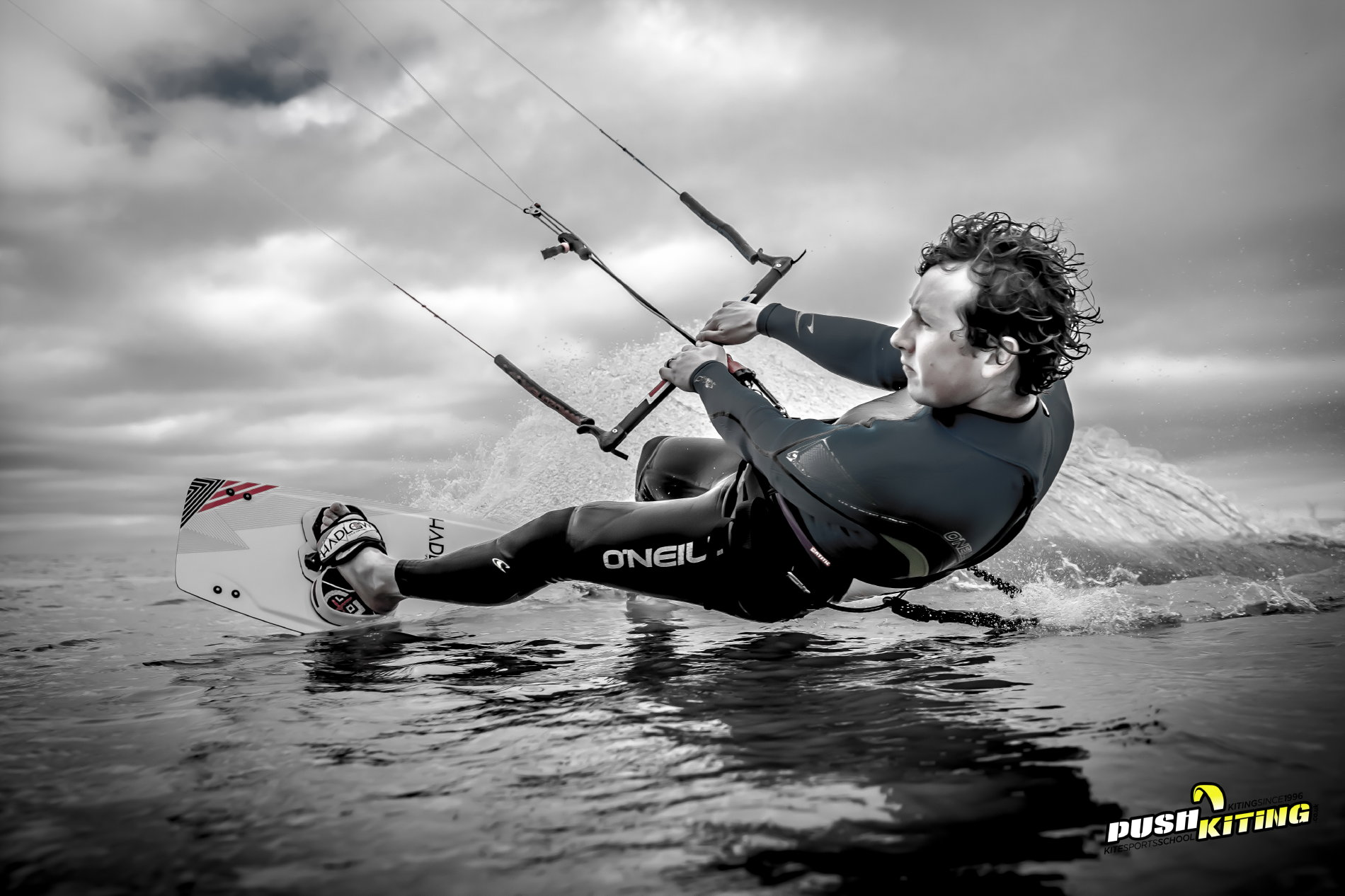 David Ursell kitesurfing instructor