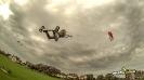 Kite land boarding Kiteloops