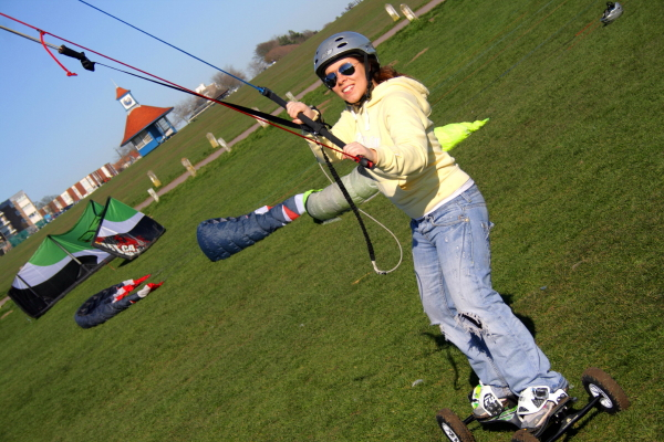 Kite boarding lessons in Essex near suffolk