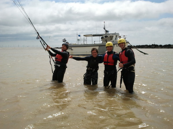 Kite surfing lessons east coast essex