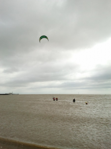 Kite surfing lessons essex0007