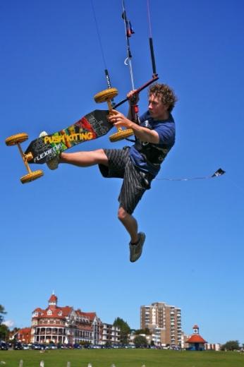 dave kite landboarding