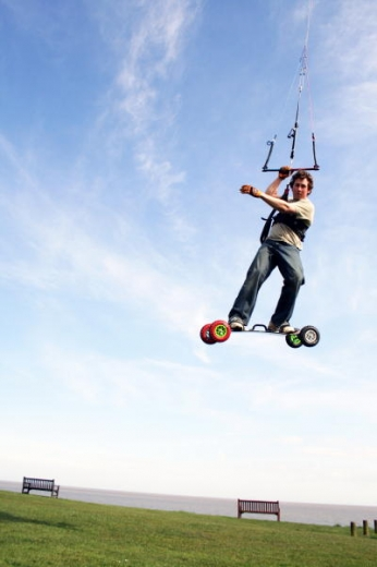 Kite Land Boarding David Ursell