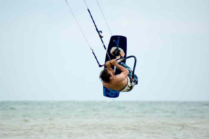 David Ursell Kite Surfing lessons in Essex near London