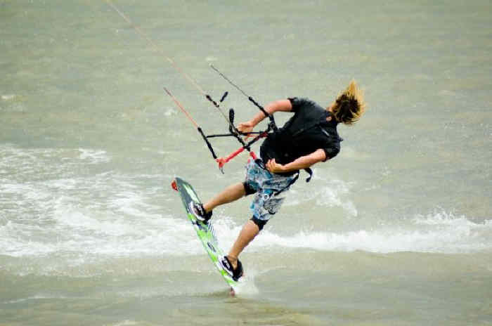 Kitesurfing lessons in East Anglia