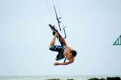 David Ursell Kitesurfing lessons on the East coast