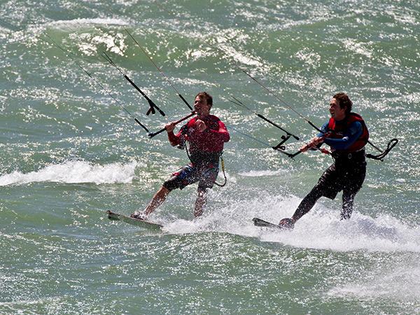Group Kitesurfing Lessons