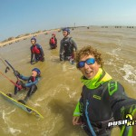 Kiteboarding lessons in Essex