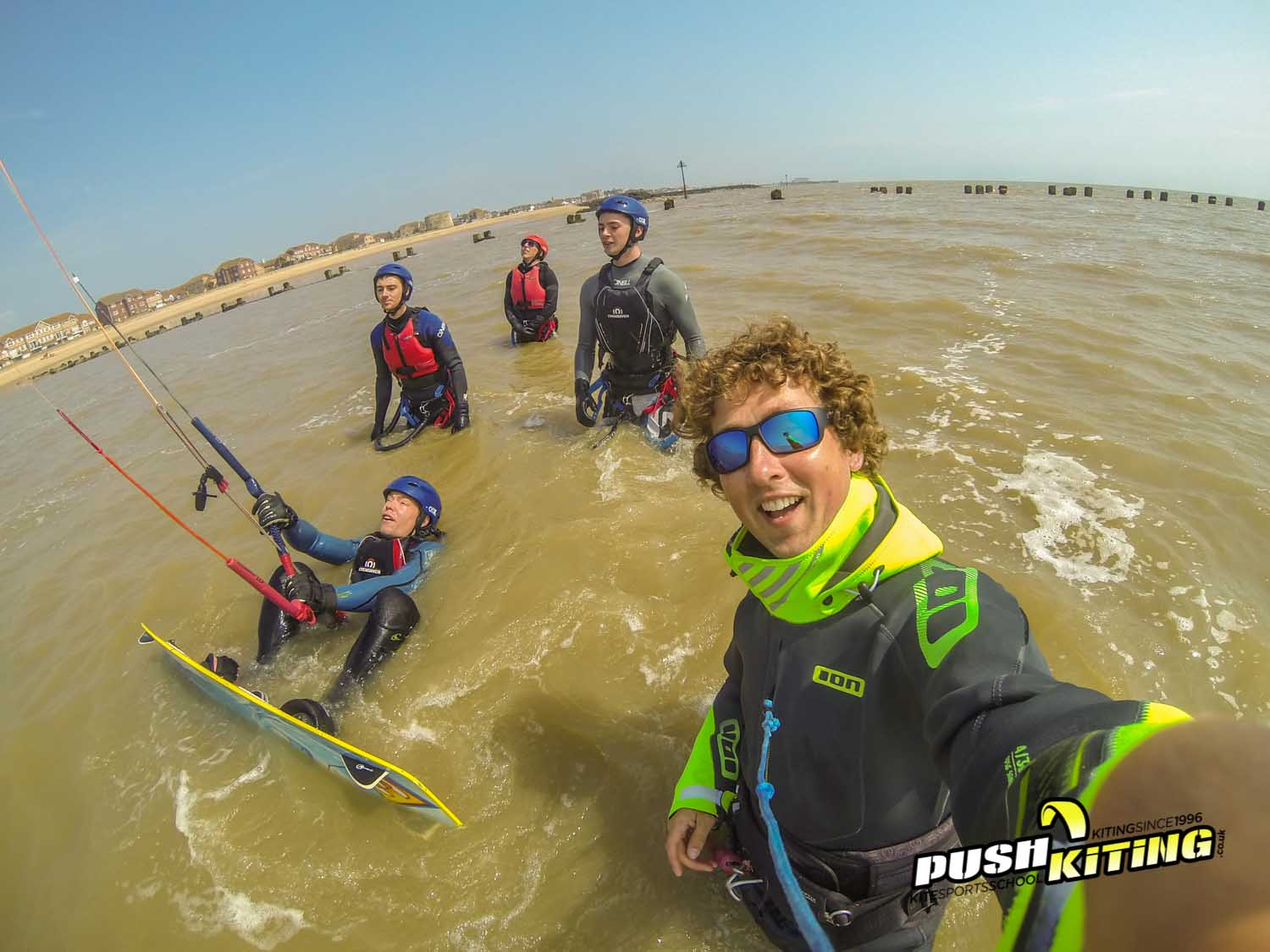 2 Day kitesurfing course September 6th and 7th