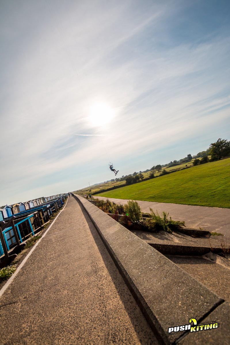 Wall Huck Kite boarding