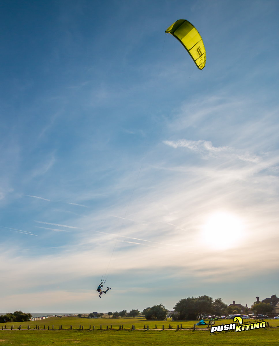 david ursell jumping on the rebel 18m