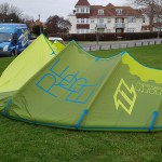 North Rebel 18m Airstyle 2015 on ground