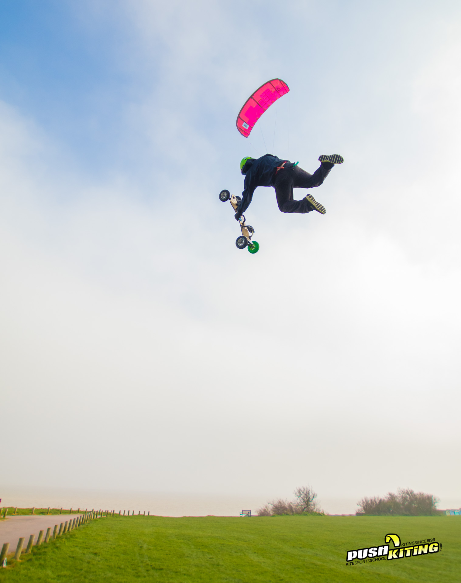 2017 Kite land boarding photo
