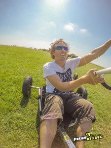 tandem kite buggy experience