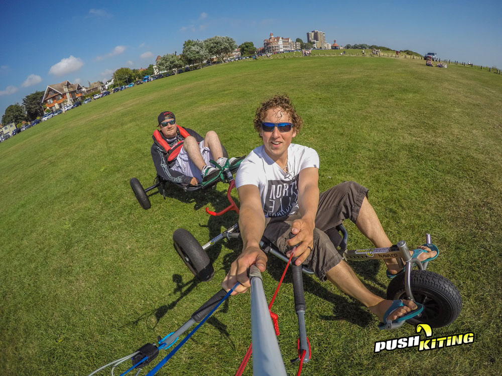 Disabled Tandem Kite Buggy experience photo