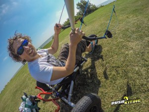new tandem kite buggy