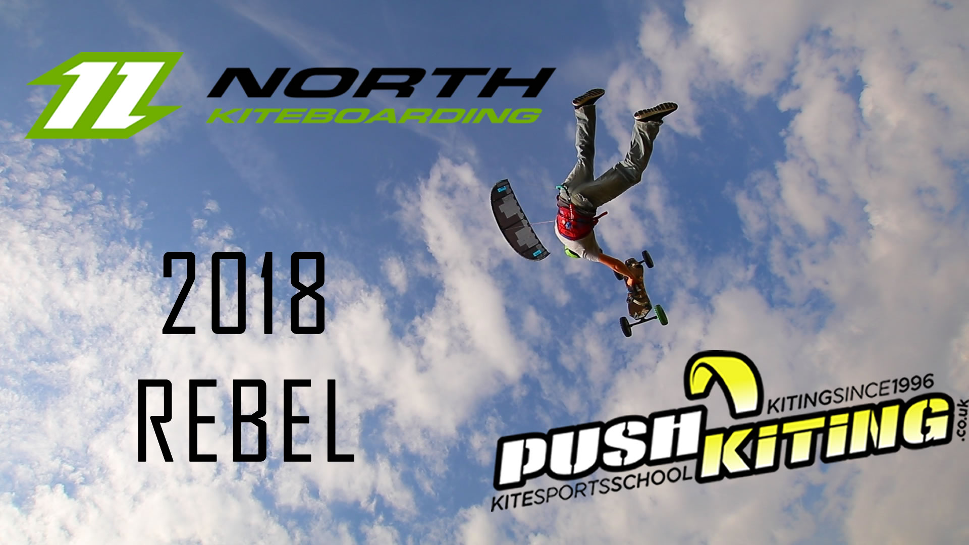 North Kiteboarding Rebel 2018 – A hang time beast on 4 or 5 line setup this year