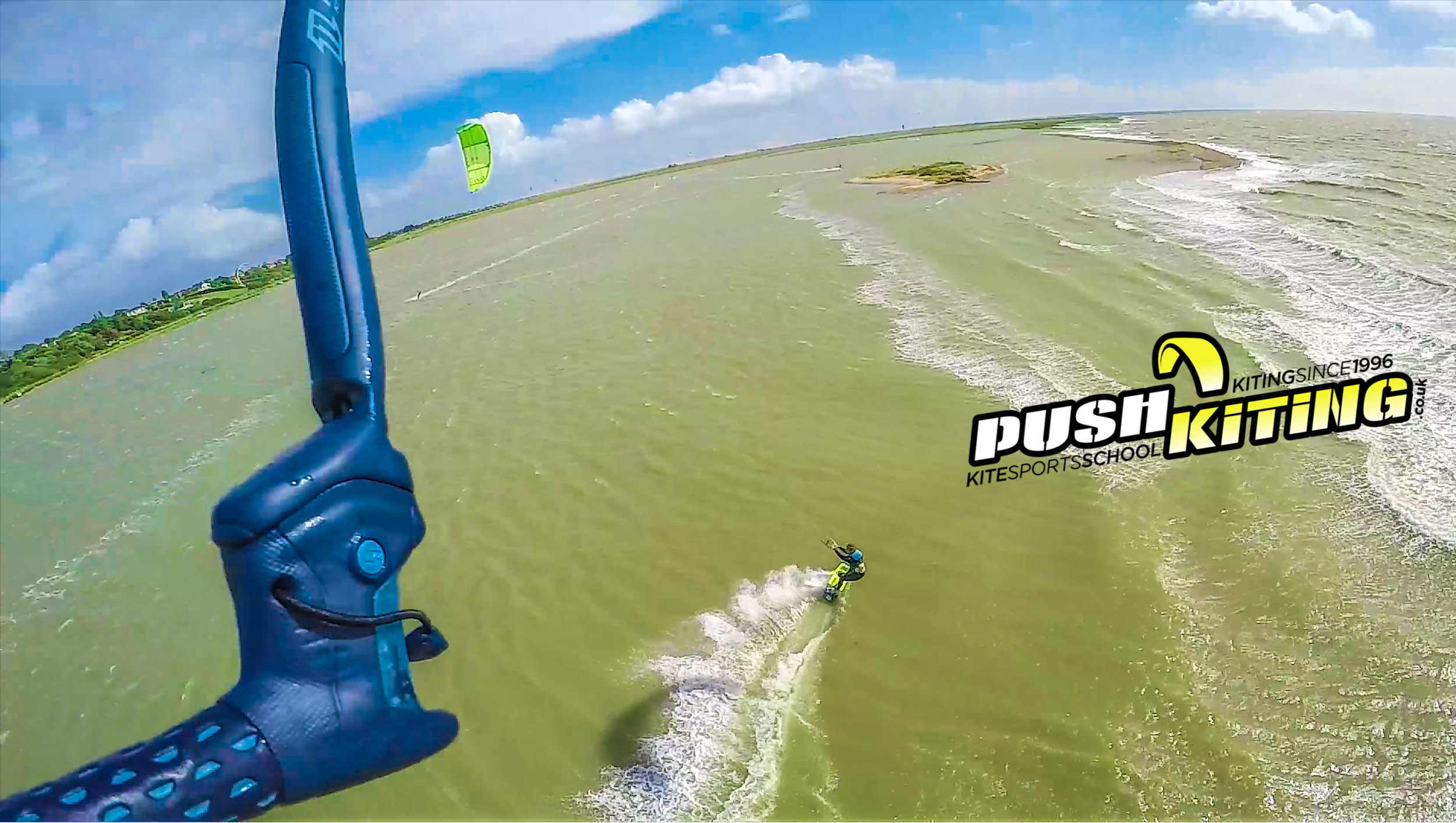 The Magic of Kiteboarding with PUSH Kiting Funstructors! Ultimate kiteboarding session