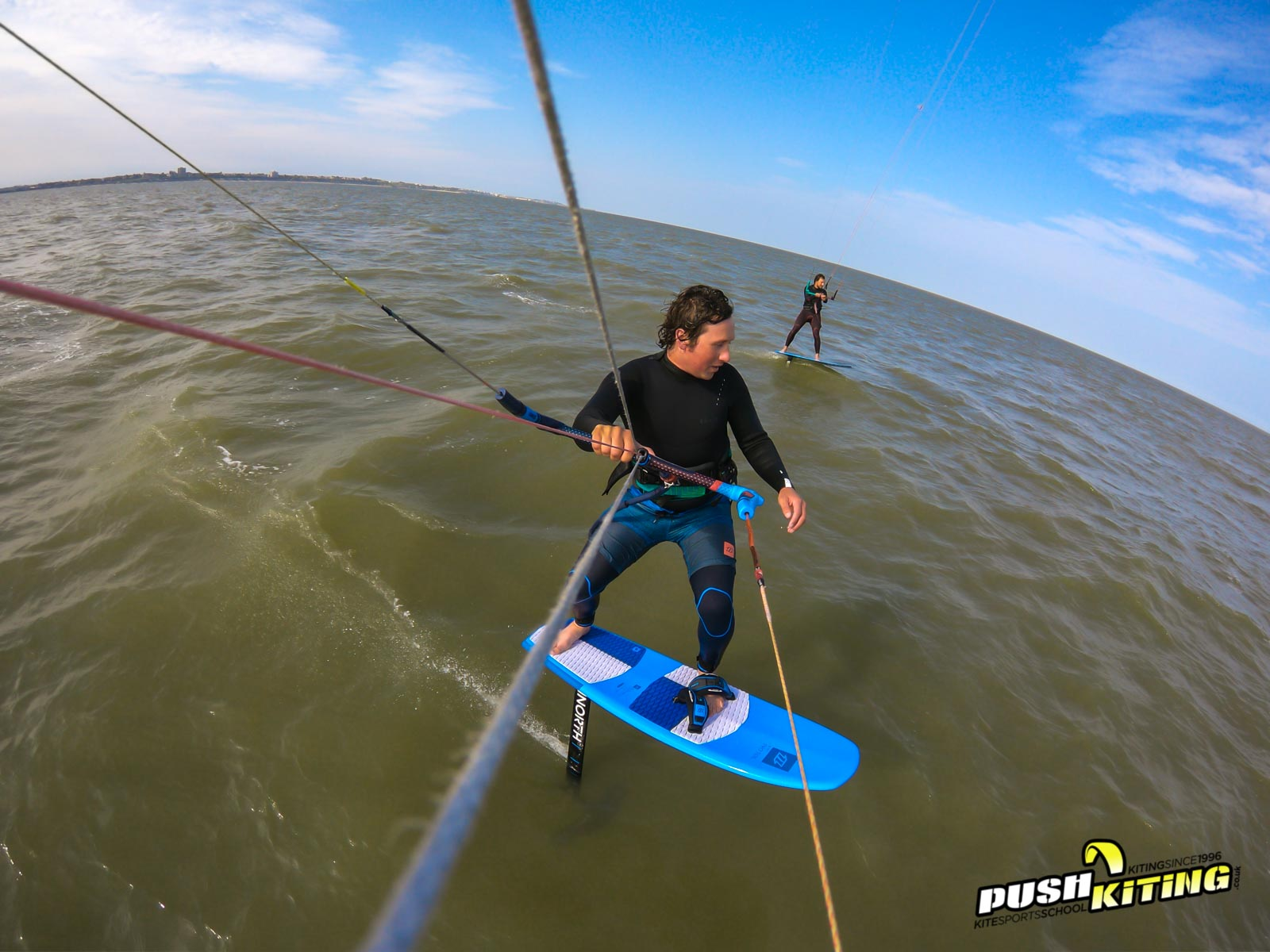 Instructor Friends Hydrofoiling