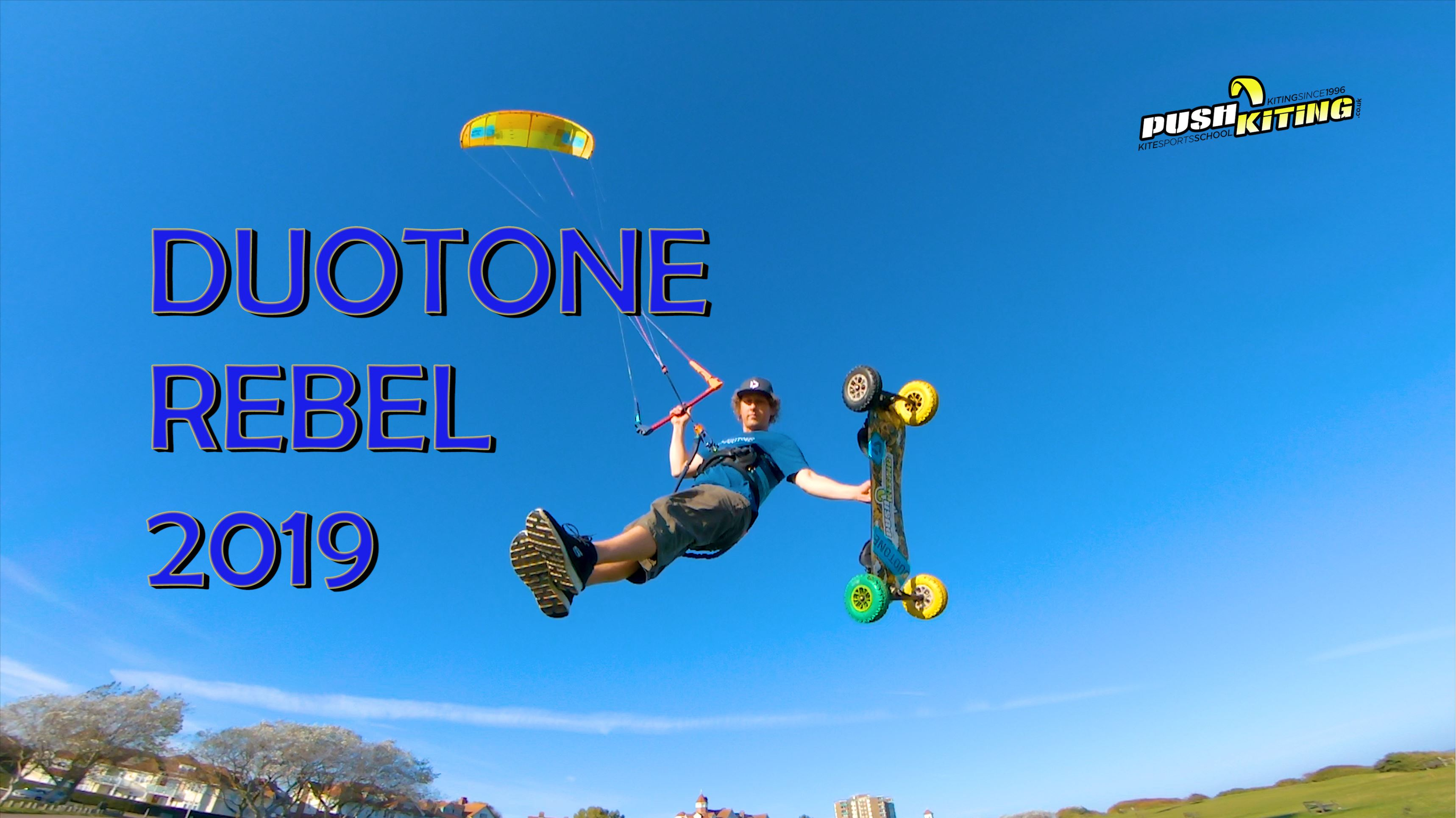 2019 DUOTONE REBEL intro and review video