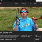 Kite buggy instruction by David Ursell