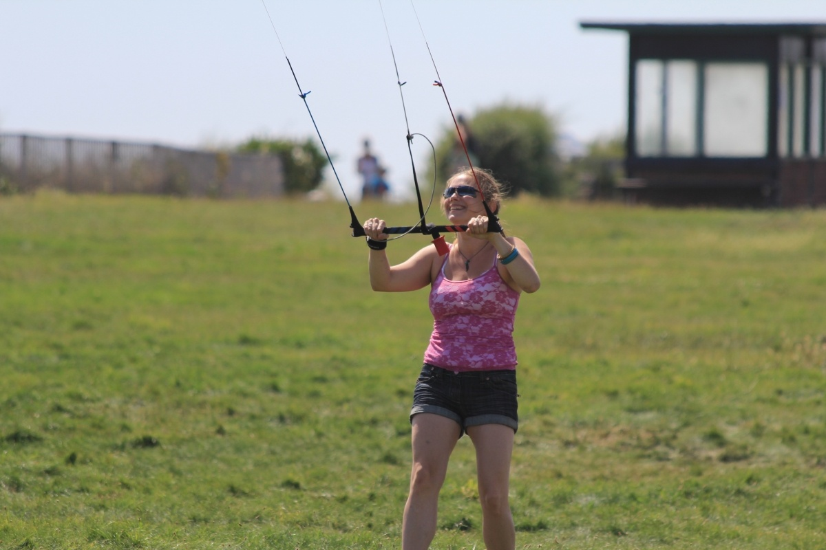 Learn to Power Kite