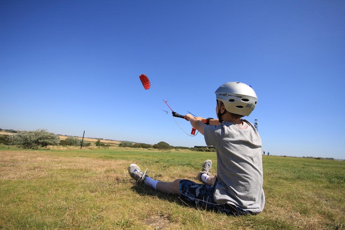 Power Kite Lessons Essex
