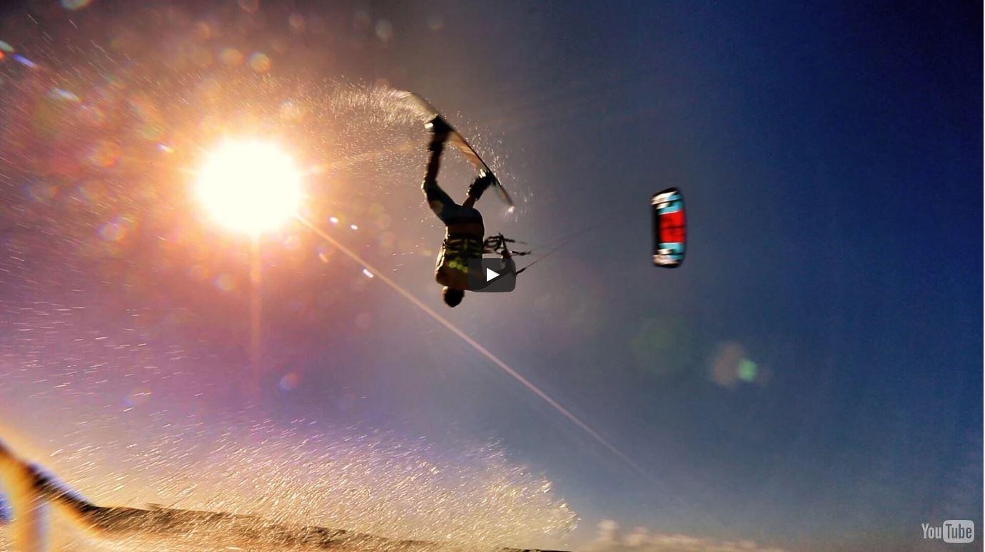 Kiteboarding Aruba – Supertramp style! with David Ursell Pro Kite land boarder.