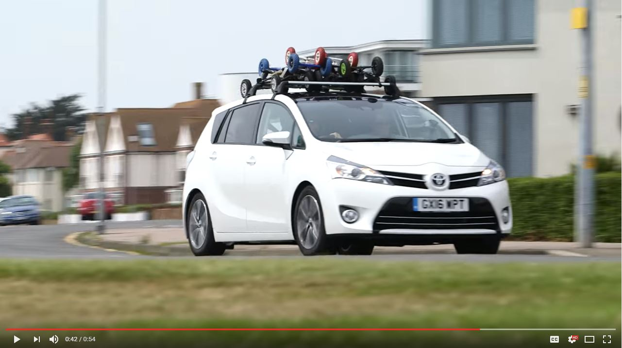 Toyota Verso Advert with PUSH Kiting Team and friends!