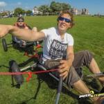Tandem disabled fun buggy
