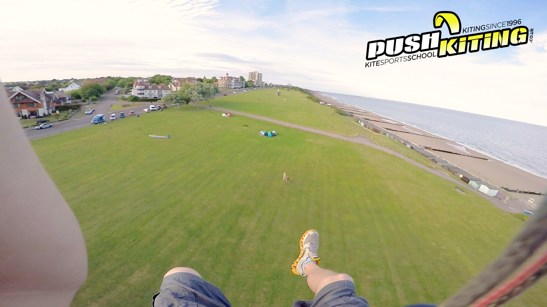 Taming the Beast – Kite land boarding Extreme video – Big kiteloops and strong winds!