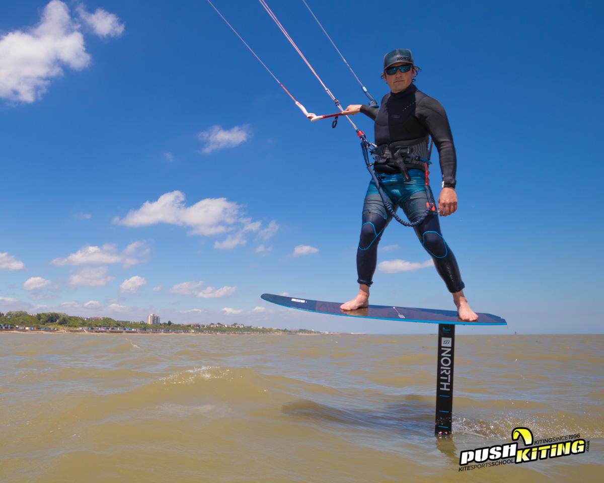 Expert Hydrofoil Kitesurfing Lessons