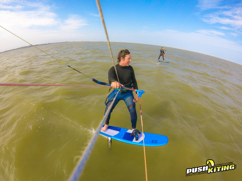 Hydrofoil kite foil lessons