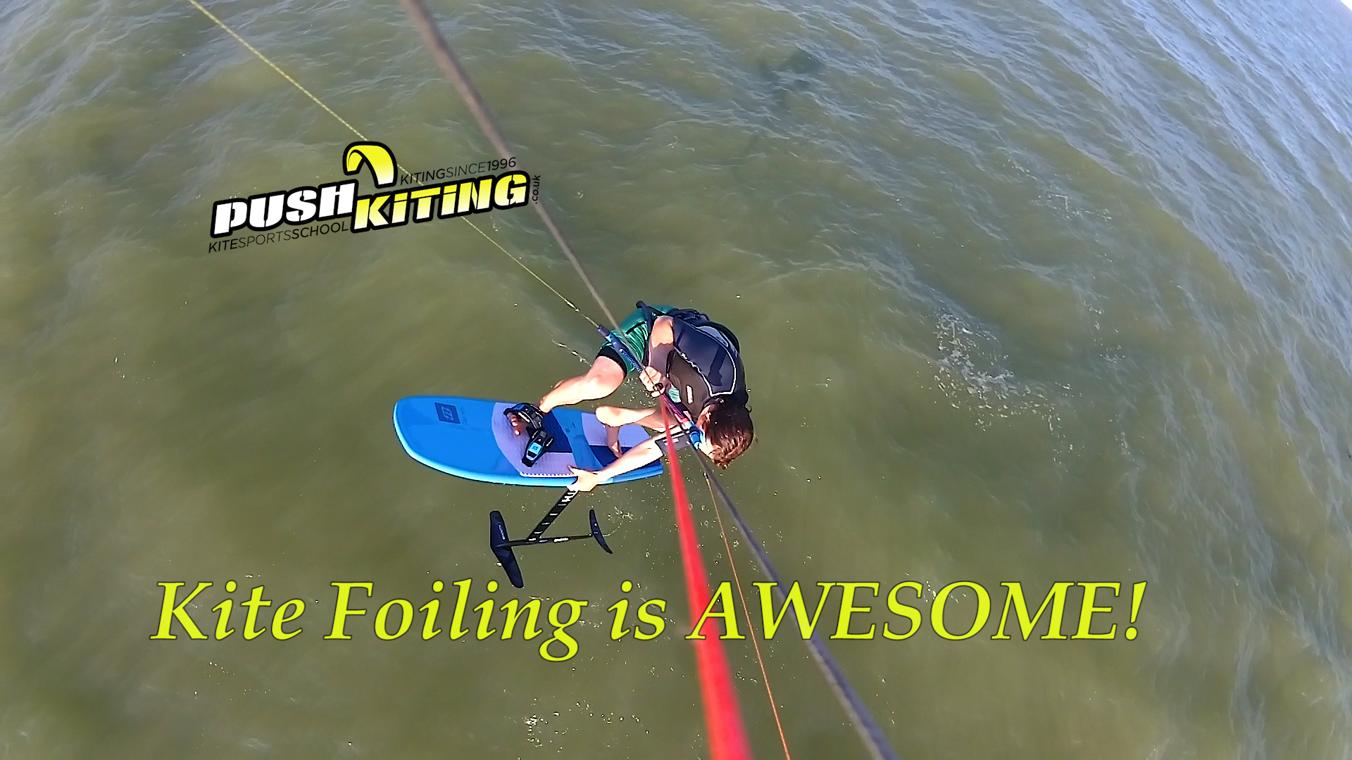 We love Hydrofoil kiteboarding 2019!